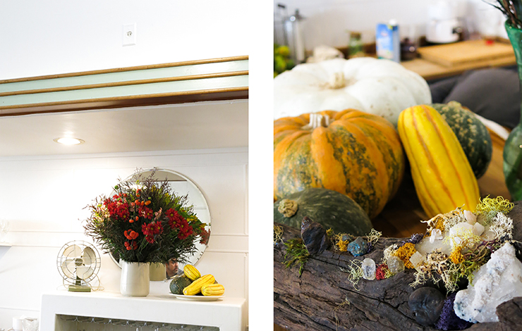 Flowers and Pumpkins