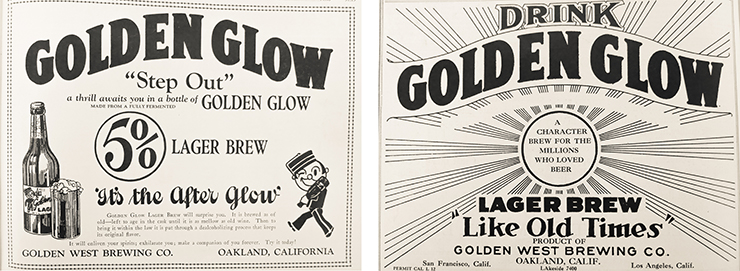 Golden Glow Ads
