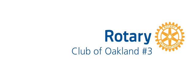 Rotary Club of Oakland #3 Logo