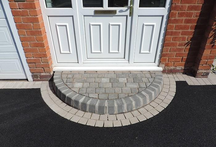 Brick Doorstep Ideas Front Doorstep Design Door Step Designs | Front Door Steps Designs | Simple Front Step | Single | Front Entryway | Decorative Entry Door | Garden