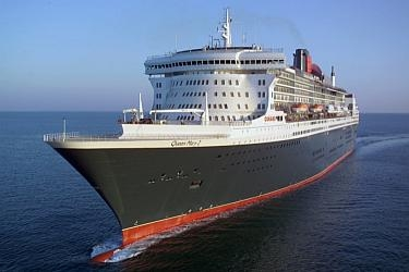 Queen Mary 2 made of Dillinger shipbuilding steel plates