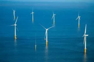 Offshore Steel in a Windfarm