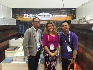 Steel plates in Singapore Exhibition
