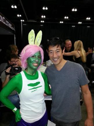 OakMonster.com - Hulk Bunny and Grant Imahara