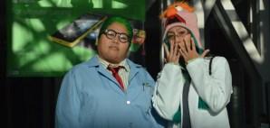 OakMonster.com - Team Wicket - Cosplay Duo - Doctor Bunsen and Beaker