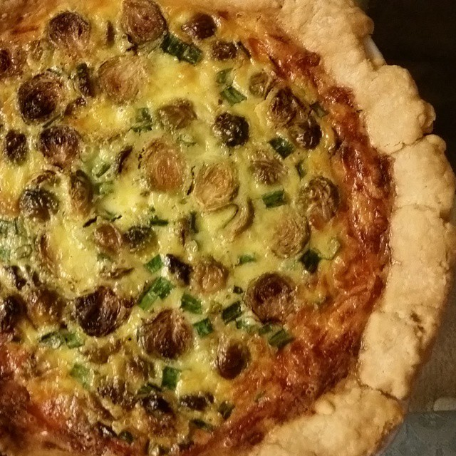 OakMonster - Brussels Sprout Quiche