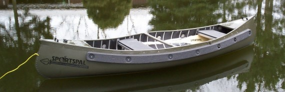 Meyers Sportspal Canoes Square Stern Transom Pointed Canoe