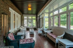 Enclosed porch at 401 N. Cuyler Ave.   Courtesy VHT Studios