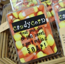 LOVE THE Candy Corn Soap at Artisans and Crafters Unique Boutique