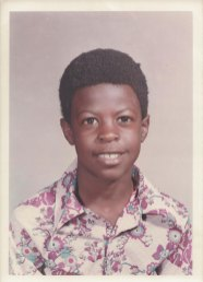 Eight years old, 1974.