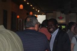 Ade Omayemi, trustee of Oak Park Township.