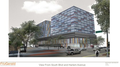 Visioning: A proposal for Harlem-South from Argent Group. (Renderings courtesy Argent Group)