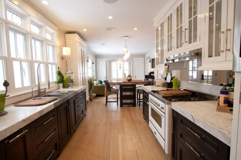 Denise Hauser's design for her own kitchen. (Photo courtesy of Parenthesis)