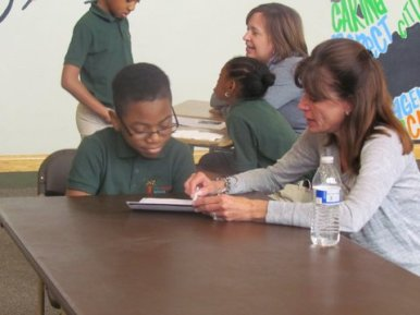 Susan Schoen, a longtime Catalyst volunteer. (Courtesy Lynne and Bill Higgins)