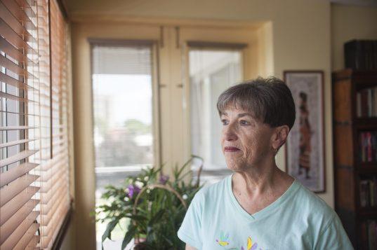Janine Katonah's life turned upside down on Sept. 8, 1994 when USAir Flight 427 crashed, killing her husband, Joel Thompson, and 131 other passengers and crew. | WILLIAM CAMARGO/Staff Photographer
