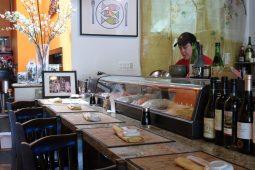 The sushi bar at Bua Hana