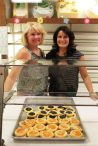 Nancy Vesecky, Owner of Vesecky's Bakery (left) and employee Laura Surprenant with their kolaczkis