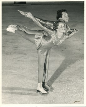 Pavlicek and her brother Craig skating for a chance to compete with the U.S. Olympic Team at the National Figure Skating Championships in 1982.   Provided by Cara Pavlicek