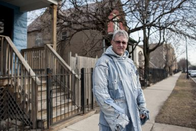 Brother Jim Fogarty in his 'work' clothes. | WILLIAM CAMARGO/Staff Photographer