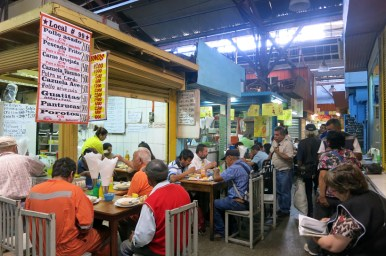 Eatery at Mercado Vega Chica, Valparaiso, Chile/Photo: Authentic Food Quest