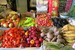 Vegetables at Mercado La Vega, Valparaiso, Chile/Photo: Authentic Food Quest
