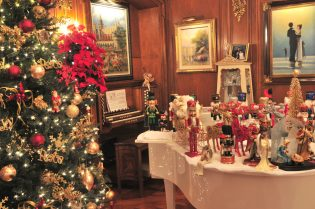 From nutcracker collections to table settings, these homes are decked and waiting. | Provided