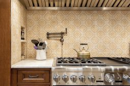 Vintage Victorian kitchen on Kenilworth. | Photo by Mak Wright