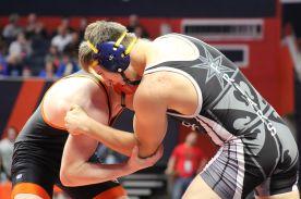 Fenwick wrestler Jacob Kaminski had a breakout season. | File photo