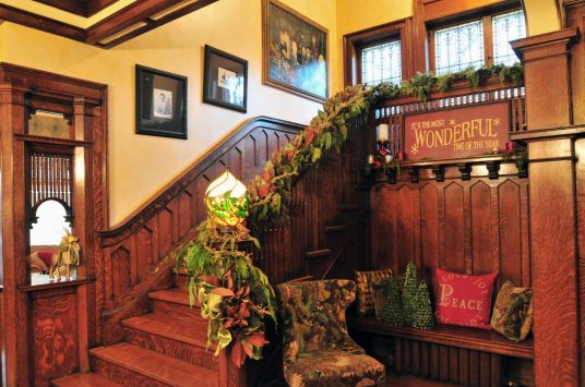 Like the homes on last year's housewalk (above), the 2017 Infant Welfare Society Holiday Housewalk will feature spectacular homes decked out in their holiday finest.   PROVIDED