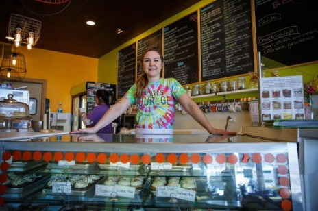 Laura Pekarik, owner of Courageous Bakery, 736 Lake St., is suing the city of Chicago over its food-truck ordinance. The Illinois Supreme Court is expected to hear the case later this year or in early 2019. (file photo)