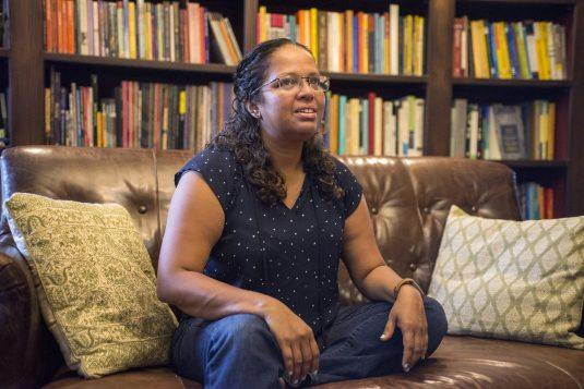 Speaking her truth: Mary Anne Mohanraj, a notable literary figure and Oak Parker, says she might run for mayor or the Oak Park Board of Trustees. | Photo by Alexa Rogals
