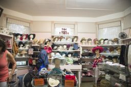 In 1919, one of the original Economy Shop departments was Millinery. The Accessory room still stocks hats, as well as purses, belts, scarves, gloves and wallets. | ALEXA ROGALS/Staff Photographer
