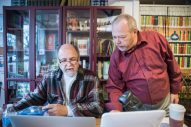 New kids on the block: Don Moss (left) and Bill Fletcher (right) are the owners of Jake's Place Books, 142 Harrison St. | Photo by Alexa Rogals