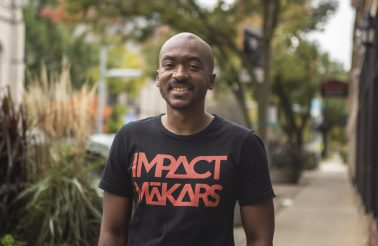 """MAN ON A MISSION: Jamael """"Isaiah Makar"""" Clark is determined to utilize spoken word poetry to improve corporate culture. His company, Impact Makars, specializes in Makarshops and Makarzines, which are designed to help companies and employees flourish. 