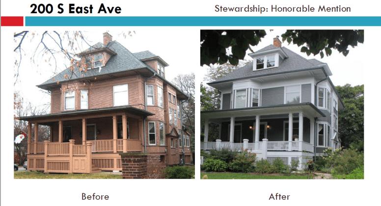 200 S. East Ave. | Courtesy Oak Park Historic Preservation Commission
