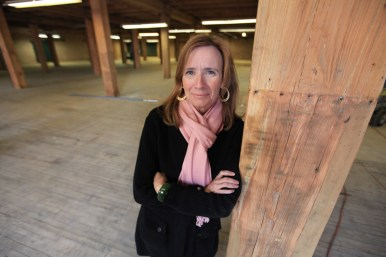Designing woman: Oak Parker Mary Beth Herr is partnering with a friend to open an upscale furniture consignment and design store called Coyle & Herr in Chicago's former Spiegel Warehouse.