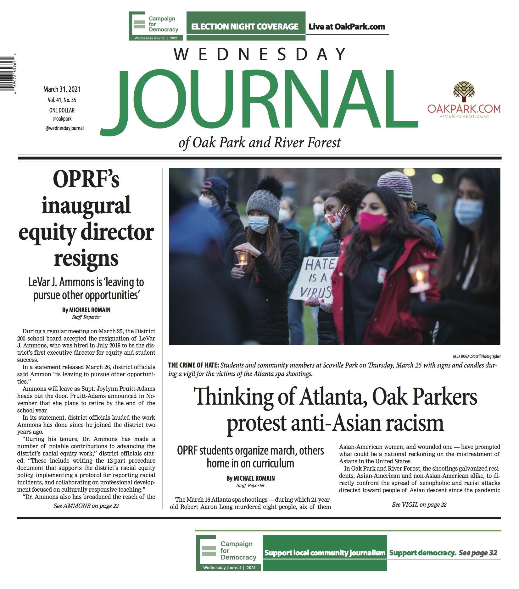 www.oakpark.com: Print Edition: March 31