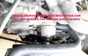 FORD F150 SERPENTINE BELT SIZE BYPASS SMOG PUMP 1991