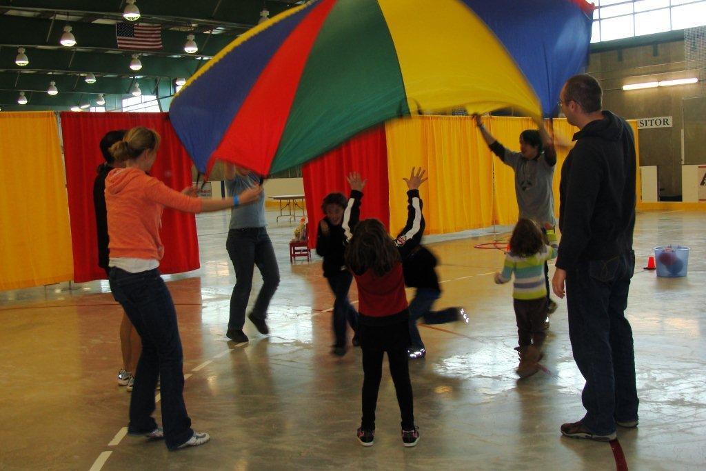 Parachute Game The Oakville Community Centre For Peace