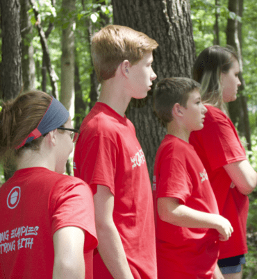 Youth Group Camp: Team Building
