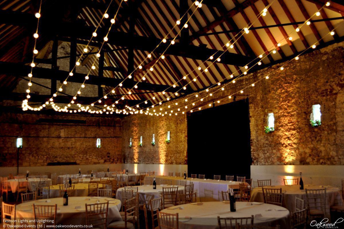 Barn Lighting Hire Wedding And Event Lighting By Oakwood