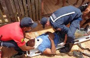 Seu Valdemiro sofreu lesões internas e passaria por exames para saber se iria ser transferido para Rio Branco - Foto: cedida