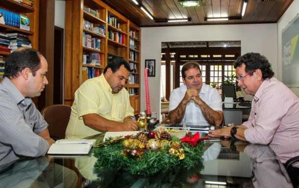Governo vai investir em saneamento nos municípios isolados (Foto: Arison Jardim/Secom
