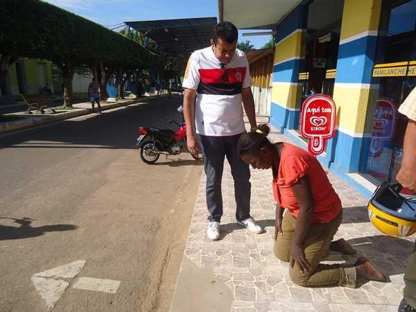 Damião Borges estava a dois dias procurando a mulher que fugiu do hospital - Foto: Almir Andrade