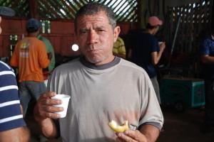 José Edilson (Bicudo), há 35 anos trabalha na secretaria de obras e transporte. Foto: Assessoria.