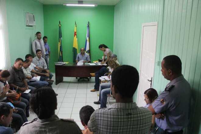 O prefeito terá outras reuniões no decorrer da semana com empresários locais - Foto: Alexandre Lima