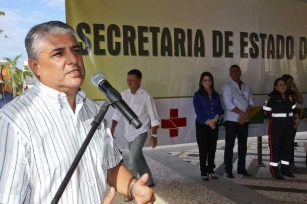 O deputado estadual Astério Moreira destacou que os parlamentares ajudaram a viabilizar toda a estrutura, que funciona integrada (Gleilson Miranda/Secom)