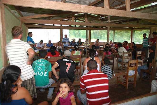 Comunidade Wilson Pinheiro II reivindicou ações na área da saúde, educação, limpeza de área agrícola e reforma de ramal e pontes. - Foto: Assessoria