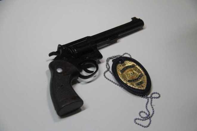Arma usada por Lenilton, um revolver calibre 38, foi comprada por R$ 1.600 reais - foto: Alexandre Lima