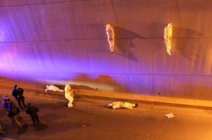 Corpos foram encontrados enrolados como múmias - 08.03.2013/Stringer/Reuters